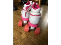 Girls Roller Skates size 4 As New