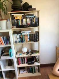 Wooden Book Shelf - With Adjustable Shelf Height