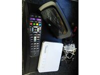 BT Vision box and accessories