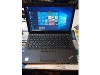 "lenovo thinkpad x260 core i5-6300u @ 2.50ghz (180gb ssd,16gb) 12.5"" screen with cam 6th Generation"