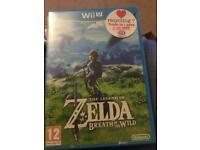 Legend of Zelda Breath of the Wild, Wii u