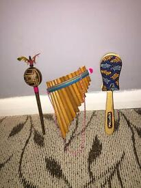 Small Wooden Instruments