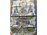 QUEENS JUBILEE 1977 SPECIAL ISSUE PAPERS AND TEA TOWEL