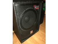 Alto 1200 watt subwoofer powered speaker