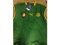 Cameroun Football Shirts x4 in XL size