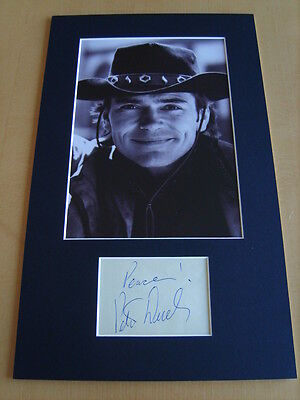 Pete Duel Genuine signed authentic autograph UACC / AFTAL
