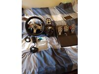 Logitech G25 Steering with Pedal and GearBox