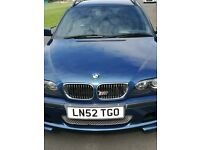 Used excellent condition BMW automatic petrol 323i touring.