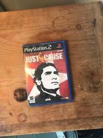 Original Just cause for ps2