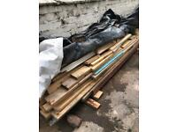 Reusable good roofing timber