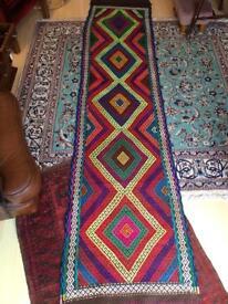 Suzni Persian runner rug