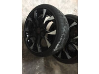 "Ford cougar escort fiesta focus fusion ka mondeo puma Alloy wheels 17"" inch 4x108 alloys wheel B-Max"