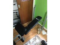 Weights bench (weights not included)