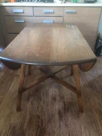 Ercol Golden Dawn Drop Leaf Table needs sanding