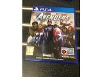 Marvel avengers ps4 game
