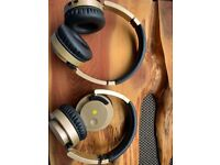 FUSION Wireless Headphones with Superior Sound - two sets