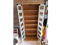 CD/DVD/book glass cabinet