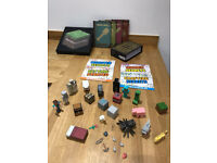 Minecraft - Figures, Books and accessories (30+ pieces)