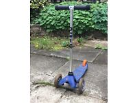 Blue micro scooter £10