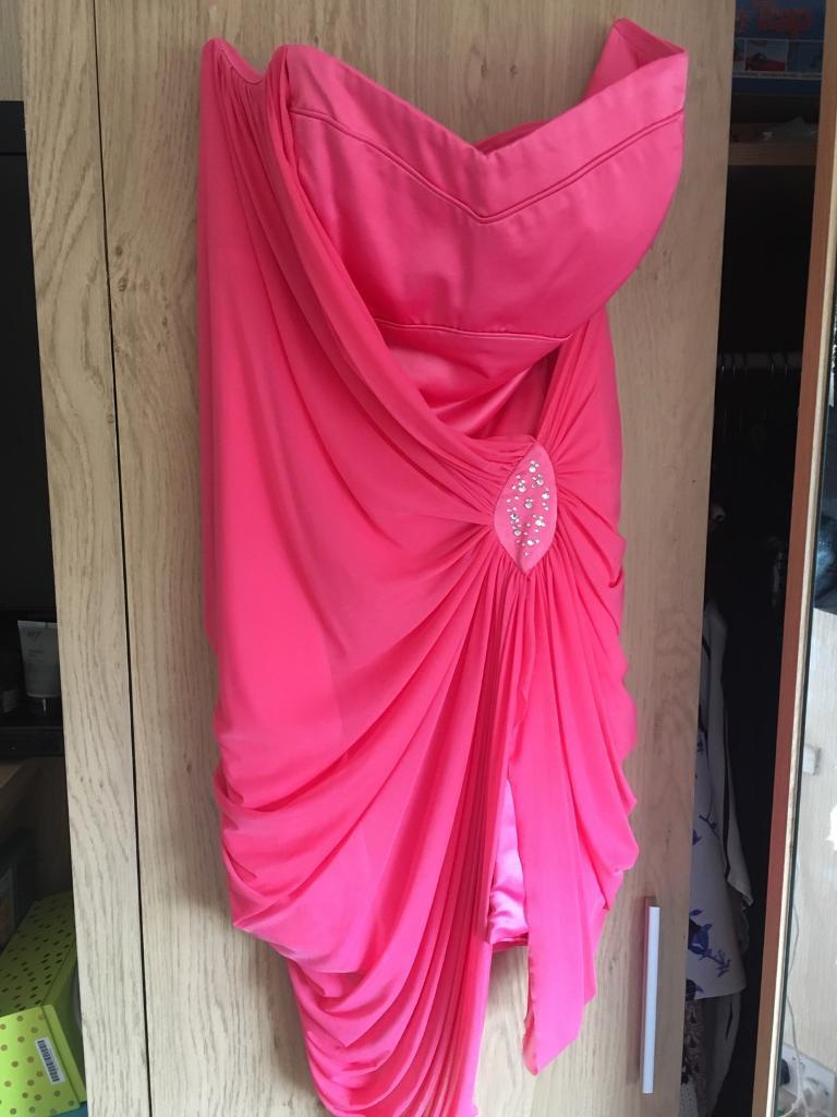 Lipsy Prom Dressin Stanningley, West YorkshireGumtree - Size 14. Short Pink Lipsy prom dress. Worn once and selling as Ive not worn it since prom