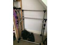 Sturdy Double Clothes Rail
