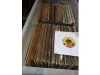 record collection, 70s, 80s, mixture of vinyls, joblot