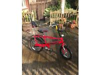 """Raleigh chopper mk3 special edition """"the hot one"""""""