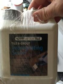 Tile and grout sealer new