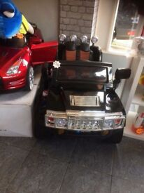 12v humvee car brand new