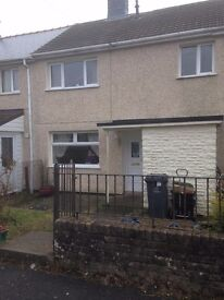 3 Bedroomed House to Let . Garnlydan,Ebbw Vale.