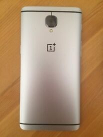 "Oneplus 3 5.5"" Android Smartphone, dual sim, 64GB, 6GB RAM, NFC/Android pay"
