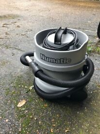 Numatic Charles vacuum cleaner grey