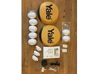 YALE wireless Alarm System (with Smoke alarms x2)