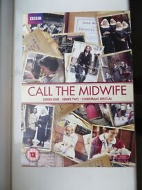 Call the Midwife - DVD's - Series 1, 2 & Christmas Special