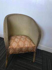 Vintage Lloyd loom occasional chair