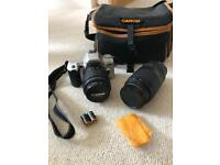 Minolta Dynax 404si Camera with 2 Lens and Canon Carry Bag