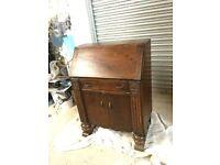 Vintage Wood Cabinet Desk