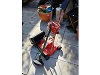 Lawnmower and strummer