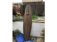 """Mini Mal Surfboard 7'6"""" excellent condition"""