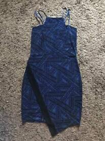 Brand New with tags size 14 Blue dress