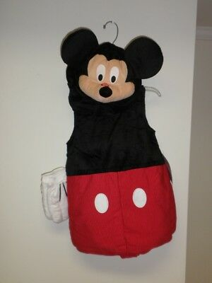 Disney Store Plush Mickey Mouse Costume childs Size 4T NWT Squeaking nose](Mickey Mouse Nose Costume)