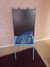 Disney princess cinderella 3 in 1 chalk board easel and wipe clean board.