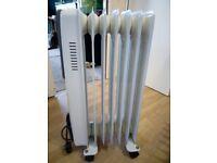Dimplex oil filled radiator 1500w.