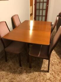 GPlan Table and 4 Chairs