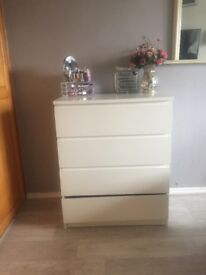 Chest of 4 drawers MALM