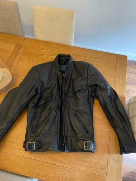 Belstaff leather mens motorbike jacket (size 40) for sale  Sale, Manchester