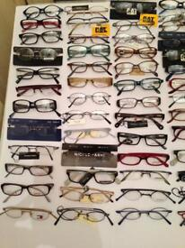 BRAND NEW OVER ONE HUNDRED HIGH QUALITY ITALIAN DESIGNER SPECTACLES FOR SALE (100% GENUINE)