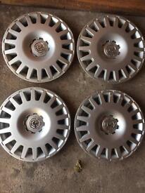 "GM 15"" Wheel Trims"