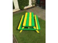 Pub Picnic benches (Handmade)
