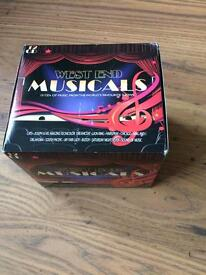 12 CDs of West End Musical songs